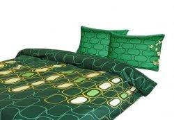 Poszewka 70x80,50X60,40X40 lub inny rozmiar- 100% satyna bawełniana DARYMEX wz. Verda Green