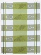 Ścierka Czapla 50x70 wz. winogrono (zielony)