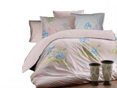 Pościel bawełniana DARYMEX kolekcja Exclusive Cottonlove 160x200 lub 140x200 + 2x70x80 wz. ORTANCA PINK