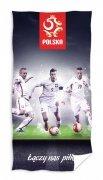 Ręcznik licencyjny kibica  - Mix piłkarzy - rozmiar 70x140 wz. PZPN 172122