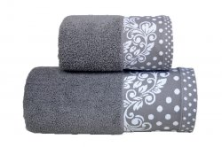 Ręcznik MELISSA 70x140 kolor stalowy