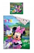 Pościel licencyjna Disney 100% bawełna 160x200 lub 140x200 - Myszka Minnie - wz. 31