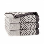 Ręcznik frotte SONORA 70x140 kolor brązowy