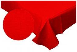 Prześcieradło RUBIN 100% bawełna 160x200 bez gumki wz. czerwony 016