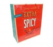 Ozdobne opakowanie, torebka na prezent 18x23 wz. Extra Spicy