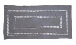 Obrus Haftowany Bruna 59-G 90x150 cm kolor: odcień grafitu