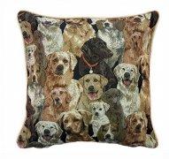 Poszewka na poduszkę Gobelin 40x40 wz 09 Dogs