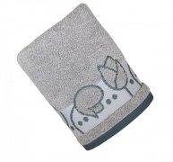 Ręcznik TULIPANO 50x90 kolor popielaty