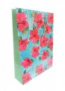 Ozdobne opakowanie, torebka na prezent 26x32 wz. Flower 006