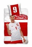 Pościel sportowa licencyjna 100% bawełna 160x200 - Lewandowski