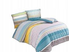 Pościel bawełniana Premium DARYMEX kolekcja Exclusive 200x220, 200x200 lub 180x200 + 2x70x80 wz. Static Turquoise