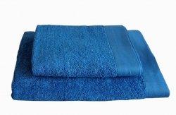 Ręczniki BAMBOO STYLE Andropol 50x100 wz. Głęboki niebieski