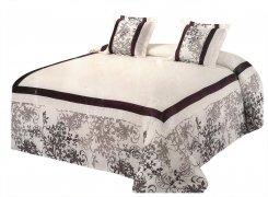 Narzuta na łóżko 220x240 + 2 poszewki 40x40 wz. Wiktoria 18