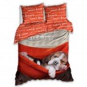 Pościel młodzieżowa 100% bawełna 160x200 lub 140x200 - Sweet Dreams wz. NL183049
