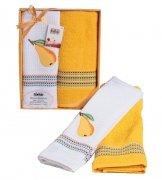 Komplet ręczników kuchennych Mimoza Collection 2x 50x70  wz. T30015-F