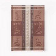 Ścierka Czapla 50x70 kawa czekoladowa