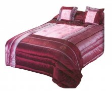Narzuta na łóżko 220x240 + 2 poszewki 40x40 wz. Wiktoria 25