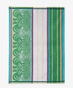 Ścierka Czapla 50x70 koguty zielone