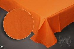 Prześcieradło RUBIN 100% bawełna 160x220 bez gumki wz. pomarańczowy