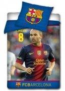 Pościel sportowa licencyjna 100% bawełna 160x200 lub 140x200 - Barcelona FCB3004IN