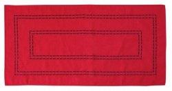 Obrus Haftowany Bruna 59-R 150x300 cm kolor: czerwony