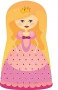 Poduszka dekoracyjna - księżniczka Aneta