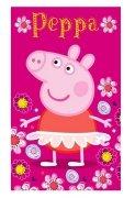 Ręcznik licencyjny - Świnka Peppa - rozmiar 30x50 wz. PP182053