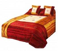 Narzuta na łóżko 220x240 + 2 poszewki 40x40 wz. Wiktoria 22