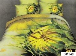 Pościel 3D satyna bawełniana roz. 220x200 wz. 3D148