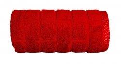 Ręcznik BRICK 70x140 kolor czerwony