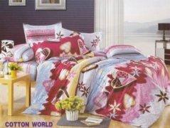 Poszewka na poduszkę 70x80, 50x60 lub inny rozmiar - KORA zapięcie na zamek Cotton KB23