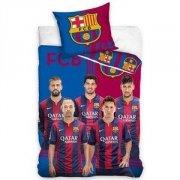 Pościel sportowa licencyjna 100% bawełna 160x200 lub 140x200 - Barcelona 145