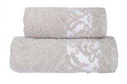 Ręcznik VENEZIA 70x140 kolor cappucino