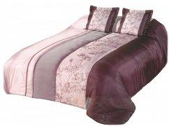 Narzuta na łóżko 180x220 + 2 poszewki 40x40 wz. Wiktoria 12