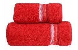 Ręcznik OMBRE 50x90 kolor czerwony