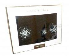 Trzyczęściowy komplet ręczników Banan w pudełku - Iluzja czarna