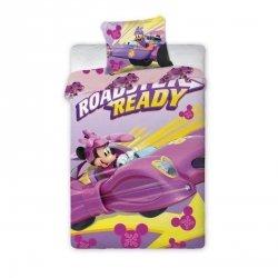 Pościel licencyjna Disney 100% bawełna 160x200 lub 140x200 wz. Minnie Mouse 070