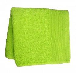 Ręcznik jednobarwny AQUA rozmiar 70x140 zielone jabłko
