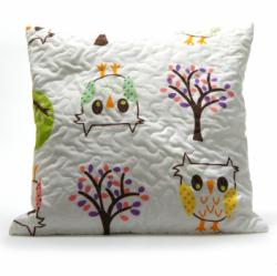 Poszewka dekoracyjna 40x40 wz. Owl