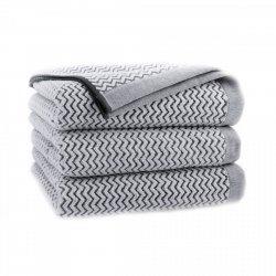 Ręcznik frotte REWA PERFECT COLLECTION 70x140 kolor szary