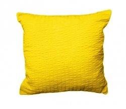 Poszewka 50x60 - KORA bawełniana wz. 26 żółty