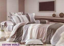 Poszewka na poduszkę 70x80, 50x60 lub inny rozmiar - KORA zapięcie na zamek Cotton KB17