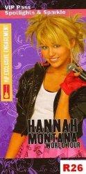 Ręcznik DISNEYA- Hannah Montana - rozmiar 70x150 wz. R26