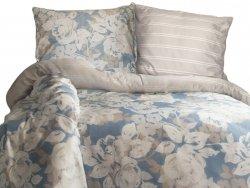 Pościel satyna bawełniana DARYMEX kolekcja Luxury 220x200 wz. Deco Rose