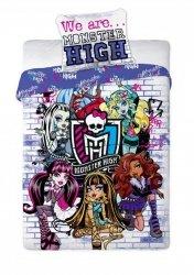 Pościel licencyjna 100% bawełna 160x200 lub 140x200 - Monster High 061