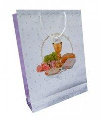 Ozdobne opakowanie, torebka na prezent 33,5 x 45 wz. Set Komunia