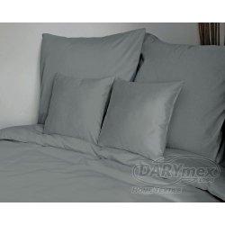 Poszewki na poduszki 40x40 satyna ANDROPOL wz. jasny szary