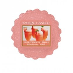 Wosk zapachowy Yankee Candle White Strawberry Bellini
