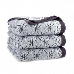 Ręcznik frotte GOBI Z SERII PERFECT COLLECTION 70x140 kolor szary