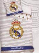Pościel sportowa licencyjna 100% bawełna 140x200 - Real Madrid 8018